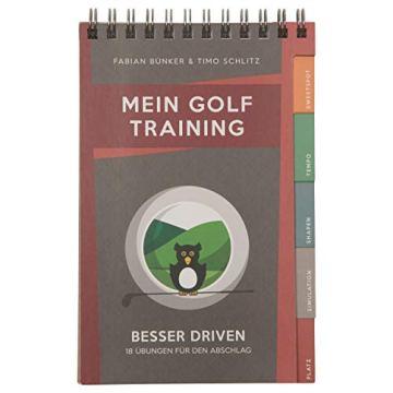 Mein Golf Training: Besser Driven - 18 Übungen für den Abschlag | Booklet für das Golf-Bag - 1