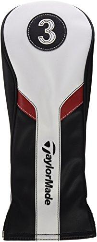 Taylor Made Golf b1587501Schutzhülle für Holz, Herren, Schwarz/Weiß/Rot, Einheitsgröße - 1