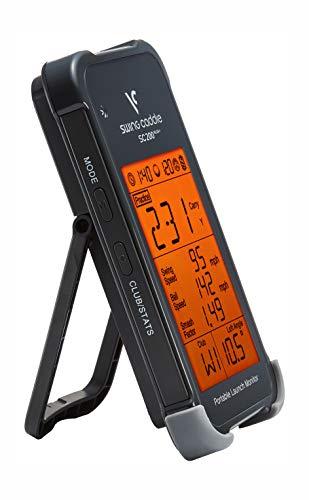 Voice Caddie SC200+ Launch-Monitor Swing-Analyse, Unisex, Schwarz, Einheitsgröße - 5
