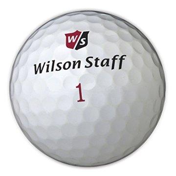 Wilson Staff, Weltweit weichster 2-teiliger Herren Golfball für maximale Reichweite, 12er-Pack, Fortgeschrittene, 29er Kompression, Kautschuk, Dx2 Soft, Weiß, WGWP37100 - 2