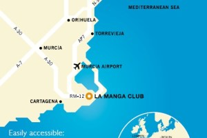 La Manga Club Location