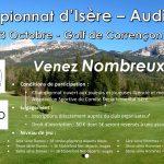 Championnat d'Isère – Audi – 2021 – dimanche 3 octobre 2021 au Golf de Corrençon en Vercors