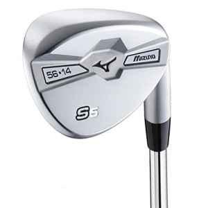 Mizuno S5Shaft Orochi Flex Lady Wedge de golf, White Satin, 56/14