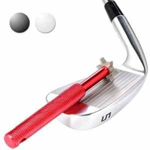Affuteur de club de golf. Nettoyeur et réparateur de club de golf. Ces accessoires de golf améliorent le backspin et le contrôle de la balle sur tous vos clubs en fer et wedges., Red
