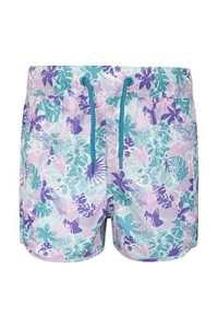 Mountain Warehouse Short de bain Fille Ado Ajustable Cordon de serrage Patterned Sarcelle 13 ANS