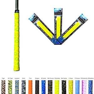 Alien Pros X-Tac Bande Grip de Golf – Prenez de la fierté dans vos clubs en utilisant la bande grip Alien, regrip, enrouler et surgrip vos poignées et équipement de golf. 3-pack dans une variété de styles disponibles