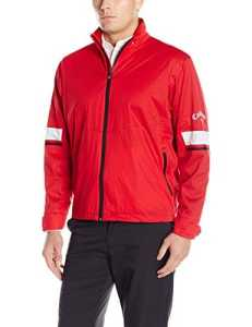 Callaway Golf Performance Full Zip Veste imperméable pour homme Large Red (613)