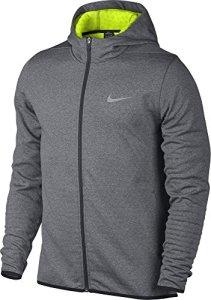 Nike Tech Sphere FZ sweat-shirt pour homme S Multicolore – noir/argent (carbon heather / volt / flt silver)
