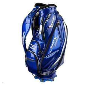 Mizuno 2015 JPX850 Elite Tour Staff Cart Bag Mens Golf Trolley Bag 5-Way Divider – LIMITED EDITION Staff Navy