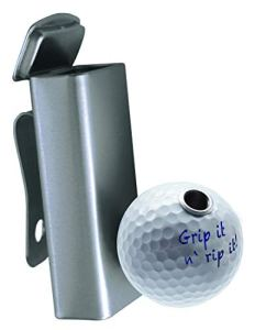 Cendrier de Golf Smoki Plus Grip it n' Rip it! Cendrier de Golf élégant avec Porte-Cigarettes