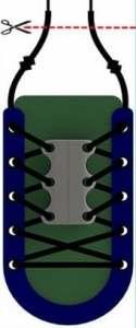 Youarebb Boucle de Chaussure magnétique Pratique Boucle de Chaussure Paresseux Boucle aimantée Lacet de Lacet 1 Paire
