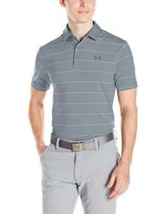Under Armour Polo Playoff pour homme moyen Steel/Steel