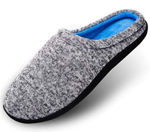 Hommes Pantoufles Femmes Chaussons Tissu mémoire Coton Antidérapant Maison intérieur Respirante Chaussures