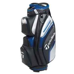 TaylorMade Golf 2018 Deluxe Cart Bag Mens Trolley Bag 15 Way Divider Black/Blue