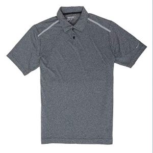 Nike pour Homme Tour Performance Polo de Golf, Homme, Grey/Cool Grey, Large