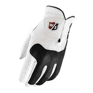 Wilson Staff WGJA00301ML Conform Mrh Gants de golf pour homme Blanc-Pour Main Droite