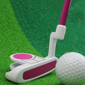 Crestgolf Enfants Putter de Golf Club de Golf Putter Junior, Bleu et Rose pour Votre Choix, Rose, 73.66 cm