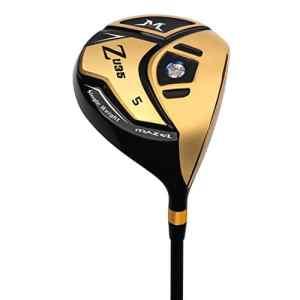 Mazel Golf Bois de parcours # 5pour homme, 111,8cm pour droitier (18degrees), doré