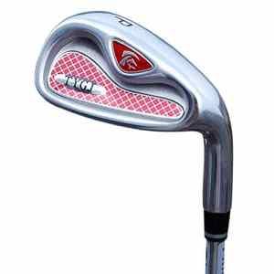Clubs de golf Hommes Femmes Main droite Écurie Long putter de golf Clubs de golf poids léger rouge Fers débutants Groupe 4/5/6/8/9 / p / s Coins de sable de golf ( Couleur : Carbon rod , Taille : P )
