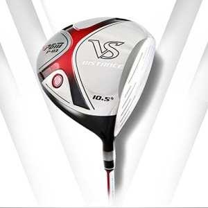 PGM P-03VS Driver de golf Distance – Graphite, pour droitier, 10,5° & # nitrure; Homme et Carbide PCB; & # Xff0C; 12° & # nitrure; Femme, Homme femme, black-red,10.5° for men
