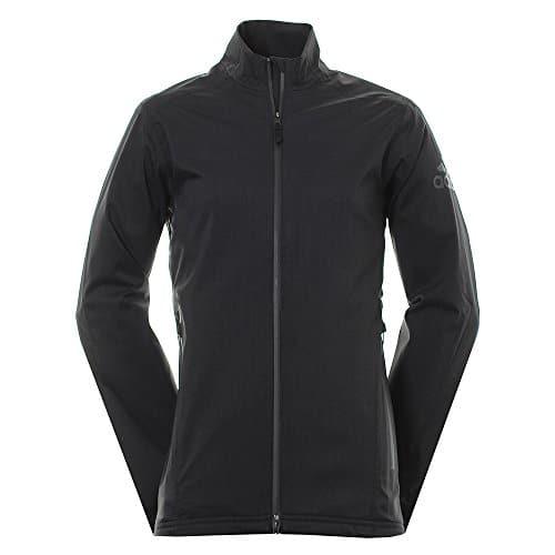 adidas Climaproof Heathered Rain Veste de Golf Homme XL Noir