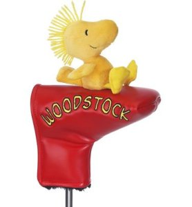 Licensed Woodstock Golf Putter Cover NEW Great Item