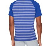Under Armour Men's Threadborne Boundless Polo, Jupiter Blue /Rhino Gray, X-Large Tall