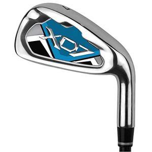Yhjklm Club de Pratique de Golf de qualité supérieure pour Les Hommes Femmes s'adapte à la Pratique de Golf en intérieur et en extérieur (Couleur : Blue-M, Taille : Steel Shaft)