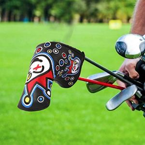 Eayse Protecteur pour Clubs de Golf- Protecteur d'ensemble de Couvre-Chef de Club de Golf de Style de Broderie imperméable en Cuir d'unité Centrale Everyone