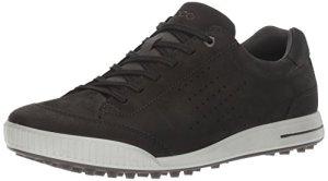 ECCO Men's Golf Street, Chaussures Homme, Noir Black 51052, 44 EU