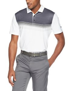 Puma Golf 2018pour Homme Road Map Polo, Homme, Bright White/Black, Grand