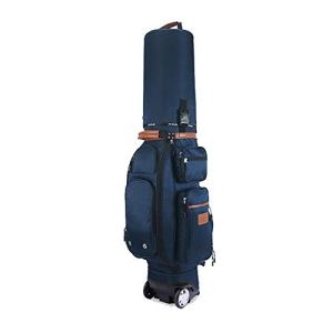 Sacs de golf Sac de golf multifonctionnel imperméable à l'eau de golf Sac de golf multi-fonction pour adulte Accessoires pour sac de support de golf avec remorqueur, habillage pluie, antivol à code Sa