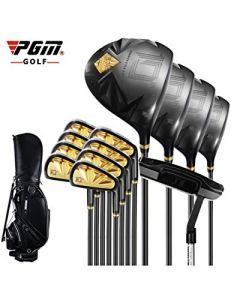 HDPP Club De Golf Costume De Putter De Golf pour Pôle DBlack Gold Carbon ro