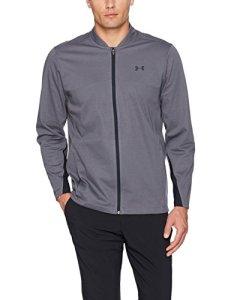 Under Armour 2017 Mens UA Storm Elements Full Zip Water Repellent Jacket Grey XL