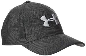 Under Armour Printed Blitzing 3.0 Casquette Homme, Gris, FR : S (Taille Fabricant : S/M)
