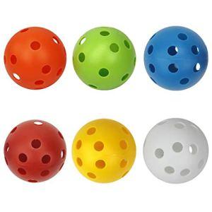 Générique 6 Balles Creuses De Circulation d'air De Balles De Golf De Compte pour Le