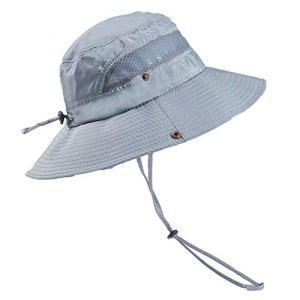 Muchfunny Chapeau de Seau de Refroidissement Unisexe Protection UV Chapeau de randonnée extérieur d'été à séchage Rapide