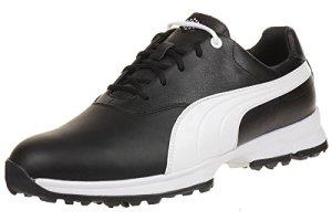 Puma Golf Ace Leather Men Golfschuhe Golf 188658 04 black, pointure:eur 40.5