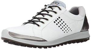 ECCO Men's Golf BIOM Hybrid 2, Chaussures Homme, Blanc (51227WHITE/BLACK), 45 EU