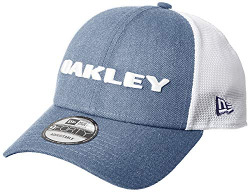 Oakley Casquette Snapback À Visière Arrondie New Era Heather Ozone (Default, Bleu)