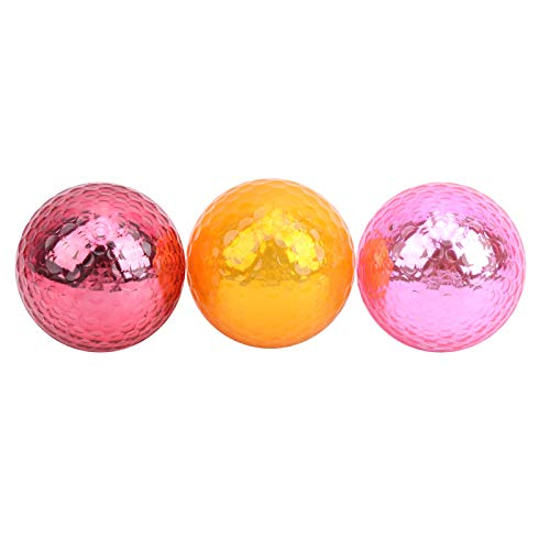 Asixxsix Boule, Boule de Couleur en métal, Haute résistance élastique pour l'intérieur extérieur