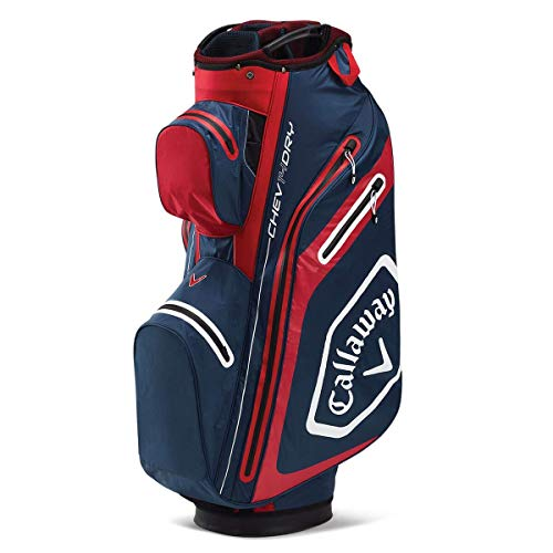Callaway Golf Bags Sacs Chariots Adulte Unisexe, Bleu Marine/Rouge, Taille Unique