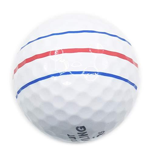 HUANGDANSEN Golf Super Longue Distance Soft Feel 3 Piece Ball Soft Feel Ball pour balles de Jeu de compétition Professionnelle