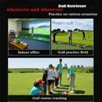 Miroir de golf, aide à la formation de parcours d'oscillation de golf, entraîneur de parcours d'oscillation de golf, miroir de pratique d'oscillation d'oscillation de golf avec sac de transport, cad