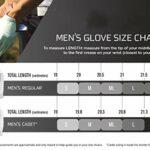 NGHSDO Gants De Golf 1 Paire d'hiver Temps Froid Gants de Golf Chaud Hommes avec marqueur de Balle Grip Golf Coupe-Vent imperméable moufles Gant Golf Homme (Color : 1 Pair, Size : L)