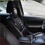 PU Matériel de massage, le dos et l'épaule Coussin de massage Vibration Couverture, Coussin conduite Car Seat Full Back Seat Coussin corps Coussin de massage conduite Coussin Pad for camion de voiture