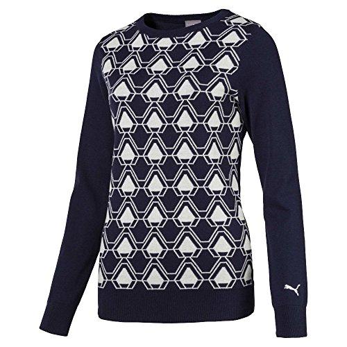 PUMA 576150 Women's Dassler Sweater, X-Small, Peacoat Veste Femme, XS