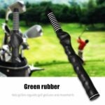 Pwshymi Golf Grip Golf Swing Training Grip Rubber Golf Club Grips Rubber Right-Handed Swing Exerciseur