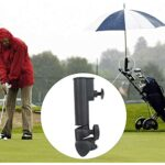 Gmasuber Porte-parapluie universel pour chariot de golf – Accessoire de golf
