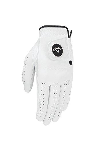Callaway Gant de Golf pour Homme Optiflex 2017Opti Flex Wrh M WHT 17, Blanc, Medium